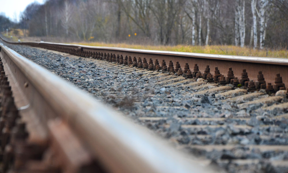 rail stock image