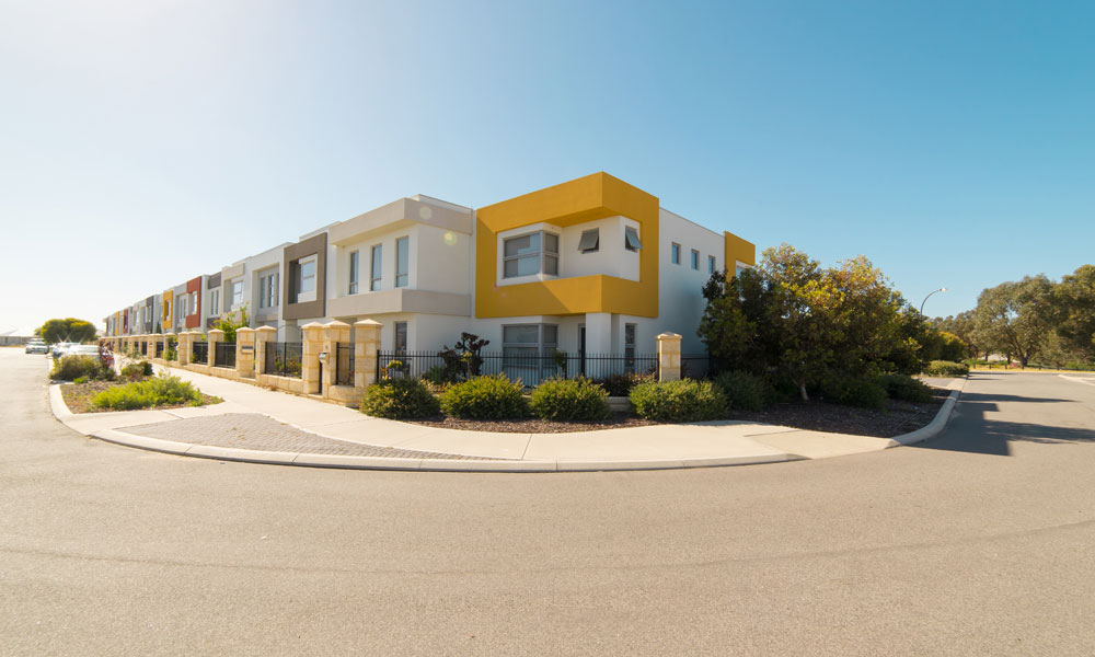 housing approvals stock image