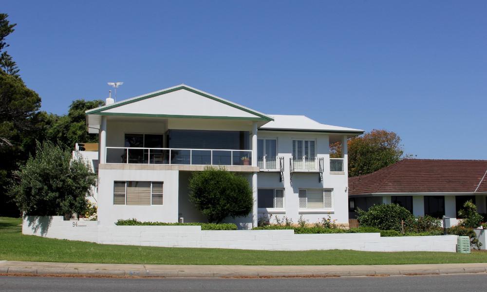 housing western australia stock image