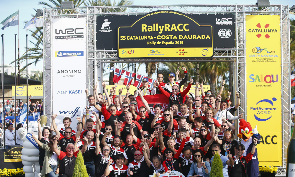 FIA World Rally Championship / Round 13 / Rally RACC Catalunya/Rally de Espana / Oct 24-27, 2019 // Worldwide Copyright: Toyota Gazoo Racing WRC