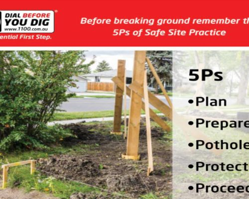 What are the 5Ps of Safe Site Practice?