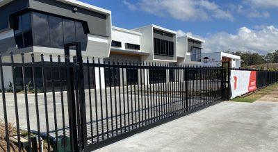Comslie Business Park project by Fence Co