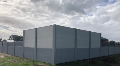 Modular Wall project by JC Contemporary Fencing