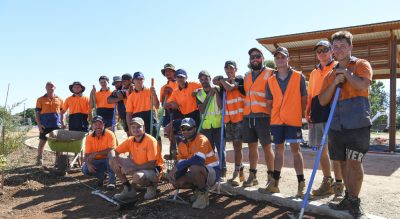 Collaboration is key for Wiradjuri garden project