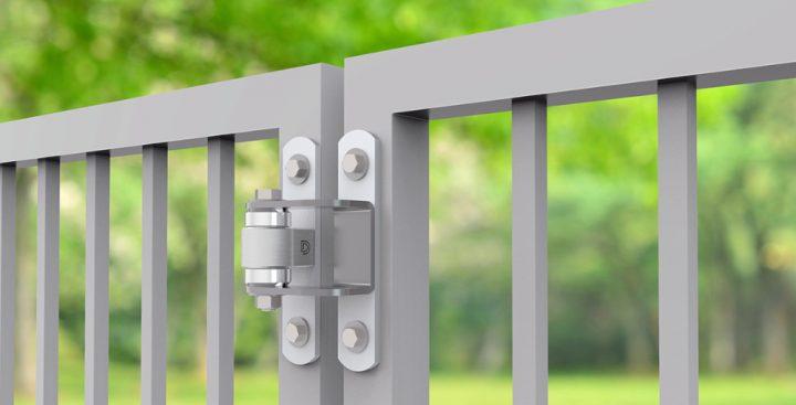 Shut It® Industrial Metal-Gate Hinges